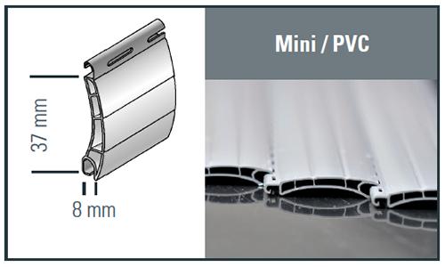 Mini Kunststoff Profilzeichnung