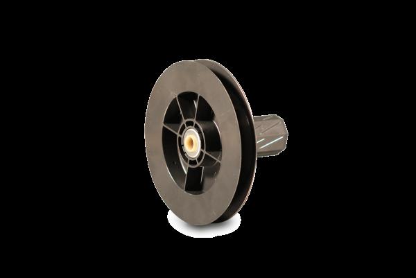 Gurtscheibe Mini 135 mm, mit innenliegendem Kugellager