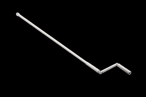 Kurbelstange | 140 cm | weiß