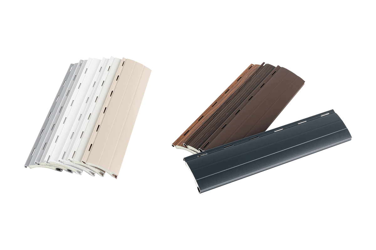 Aluminium-Rolladenprofile