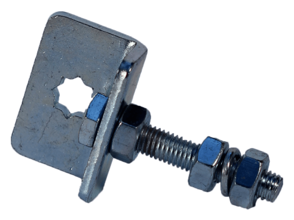Motorlager   10 mm, Stern, verstellbar, Fertigkasten