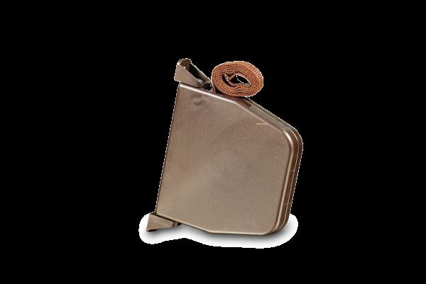 Aufschraubwickler Mini schwenkbar braun, inkl. 5,0 m Gurt