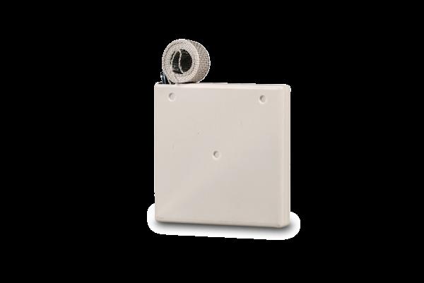 Aufschraubwickler Mini weiß, inkl. 5,0 m Gurt