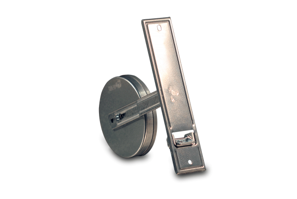 Einlasswickler Maxi 18,5 cm für 5,6 m Gurt, mit verstellbarer Federtrommel