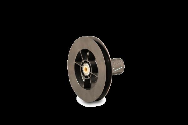 Gurtscheibe Mini 114 mm, mit innenliegendem Kugellager