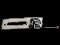 Motorlager | 10 mm, Vierkant, Langloch, Fertigkasten