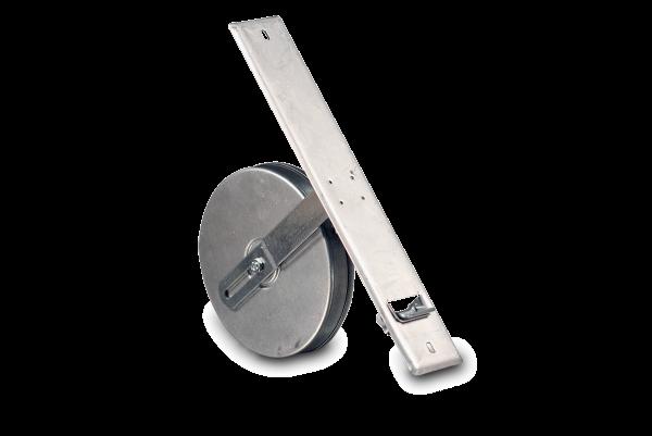 Einlasswickler Maxi 18,5cm für 12,0 m Gurt, mit verstellbarer Federtrommel