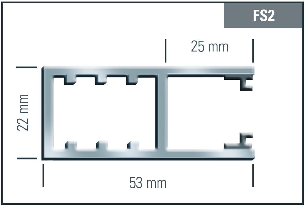 FS2 Mini Profilzeichnung
