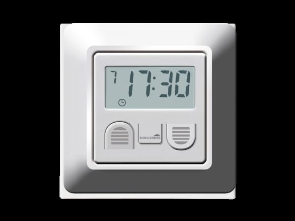 Zeitschaltuhr mit Display - einfach, kabelgebunden