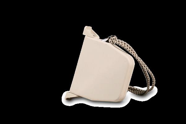 Aufschraubwickler Schnur schwenkbar weiß, inkl. 5,0 m Schnur