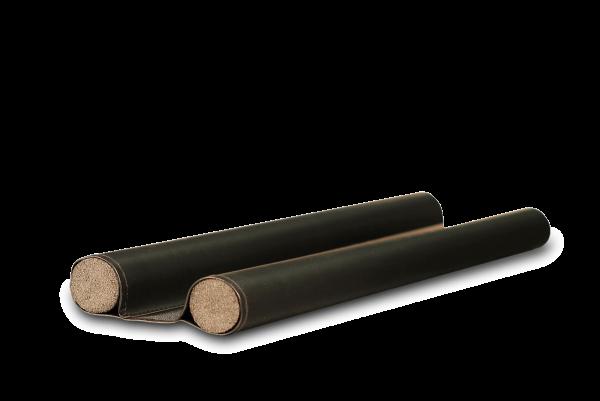 Türdichtungsrolle, 100 cm, schwarz, Doppelrolle