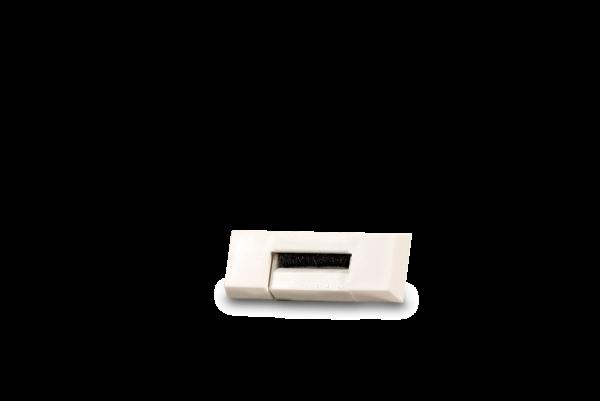 Gurtführung Mini/Maxi Duo rechteckig mit Zugluftdichtung