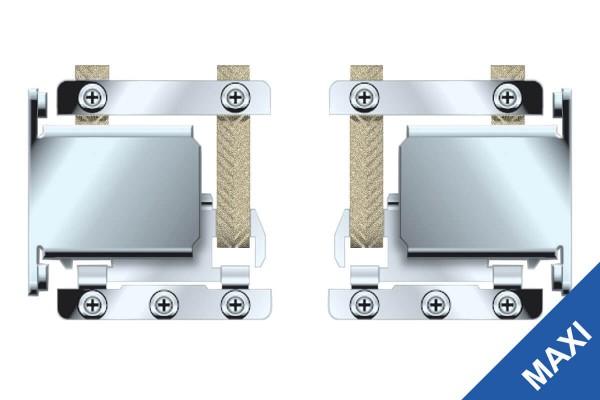 Rollladen-Hochschiebesicherung Maxi 1 Paar für manuellen/elektrischen Betrieb
