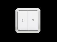 Rollladenschalter, Wipp-Schalter | Unterputz, kabelgebunden