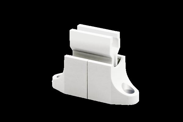 Wandhalterung für Rolladenkurbel | weiß
