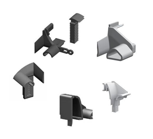 Einlauftrichter - verschiedene Varianten