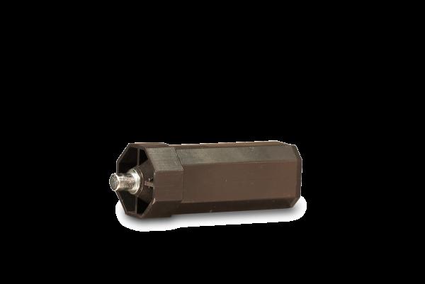 Walzenhülse Mini 40mm, mit außenliegendem Stift