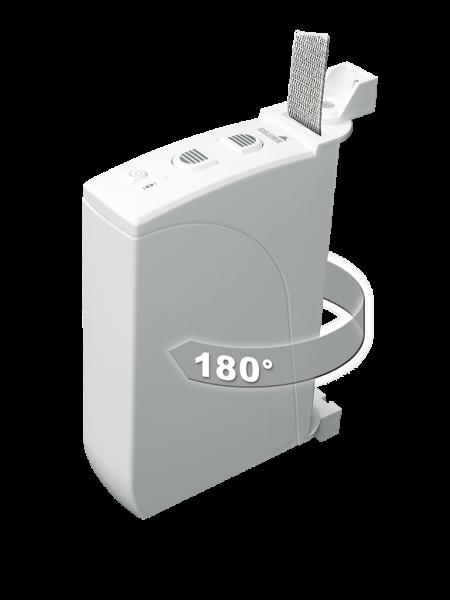 Elektrischer Rolladengurtwickler 4,0 qm AP einfach