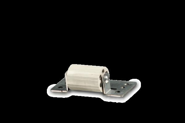 Andruckrolle mit Anschraubplatte
